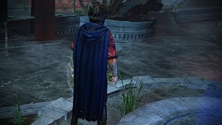 Path of Exile: Navy Hooded Cloak