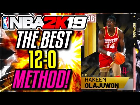 MY TEAM UNLIMITED 12-0 METHOD ON NBA 2K19 !!! ( PLAY STRAIGHT BUMS)