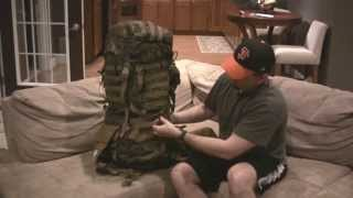 Great low-cost Bug Out Bag! Arcteryx Marine ILBE pack review.