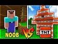 Troll NOOB Bằng NHÀ TNT Trong Minecraft!!