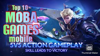 TOP 10 BEST MΟBA GAMES 2020 (Android & IOS)