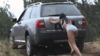 Ce se intampla cand combini femeile cu masinile? :)) Rezulta un clip mega-haios