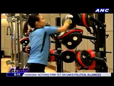 Move, Refuel and Recover at The Health Club in Edsa Shangri-La, Manila on ANC Cityscape, August 2015