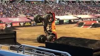 Monster Jam World Finals 20 XX 2 WHEEL SKILLS CHALLENGE - Orlando Florida 2019 05/10/19