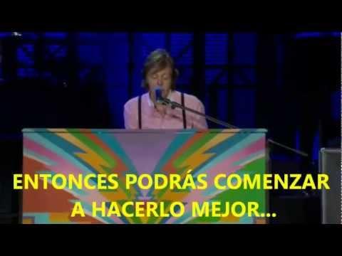 Paul McCartney- Hey Jude (Subtitulada Español) (Zócalo México: 2012)