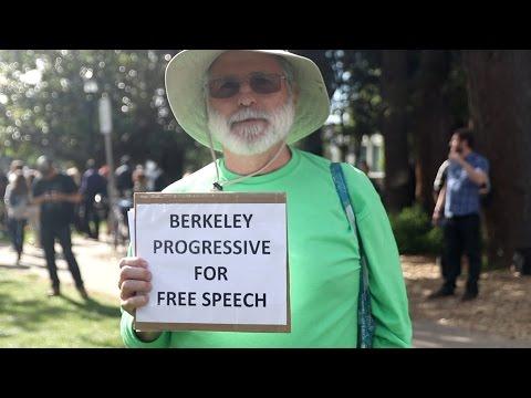Faith Goldy meets a Berkeley progressive FOR free speech