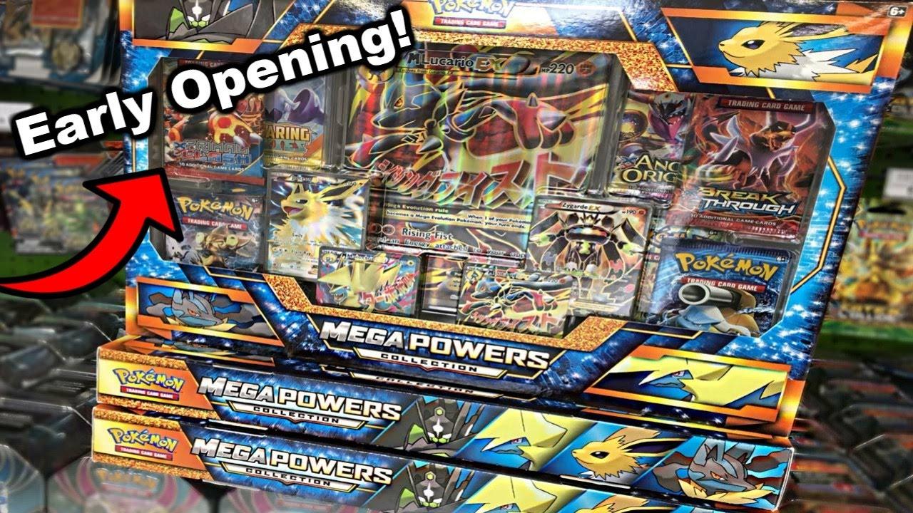 Pokemon Mega Powers Collection Box Online Promo Code