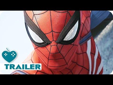 SPIDER-MAN Gameplay Trailer (2018) E3 2017