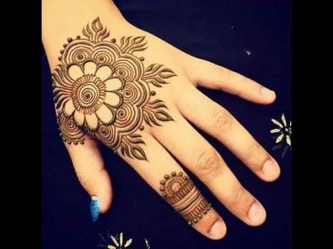 Flower Pattern Mehndi Designs : Easy floral mehndi designs quick mehandi pattern step by