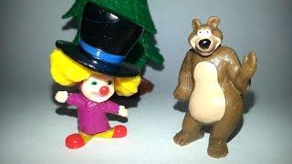 Видео для детей. Маша и медведь - шоколадные яйца