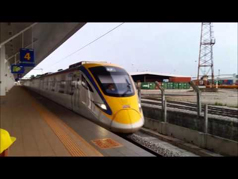ETS9209 Arriving Butterworth KTM Station - 14Dec2015