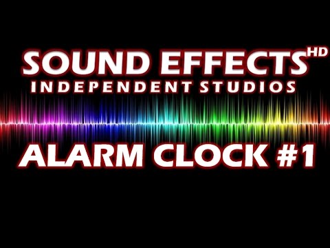 SOUND EFFECT: ALARM CLOCK #1 - ALARM (WECKER) #1