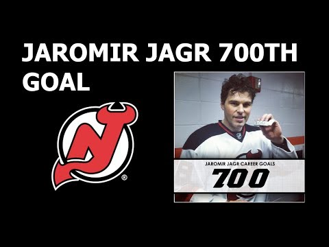 Jagr's 700th goal | Action from NHL