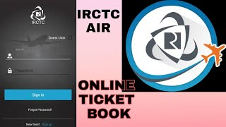 Irctc air online ticket Booking 2020 live proof