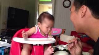 Vy's first meal [solids] Thumbnail