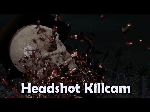 Sniper Elite 3 - Headshot Killcam
