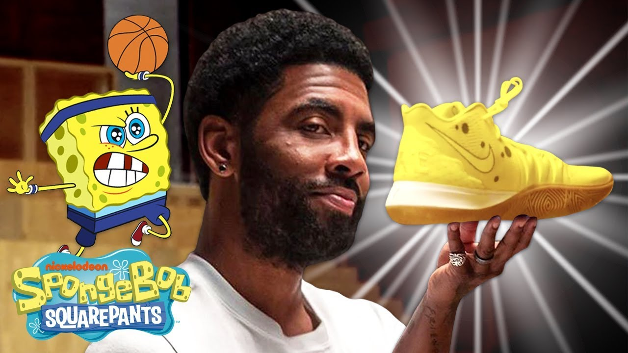 The Kyrie Irving x SpongeBob INSANE SNEAKER Collab w/ Nike YOU Can't Miss! 👟 | SpongeBob #1