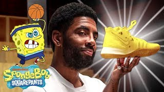 The Kyrie Irving x SpongeBob INSANE SNEAKER Collab w/ Nike YOU Can't Miss! 👟
