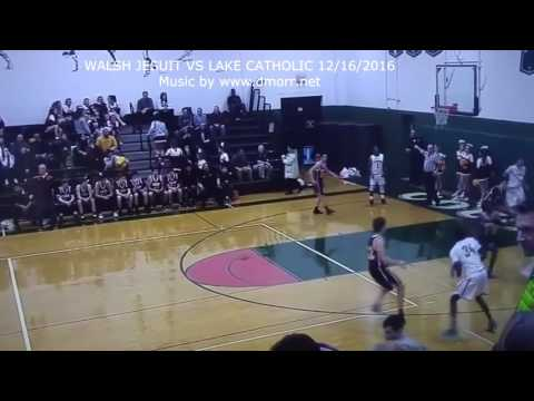 Donovan Morris 2016 Clips Walsh Jesuit High School Basketball Game 1  and 4 vs Euclid and Lake Catho
