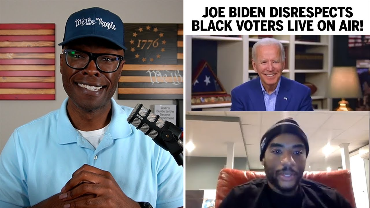 "Joe Biden Says Vote For Me Or ""You Ain't Black!"" (REACTION)"
