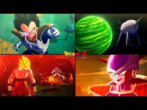 Dragon Ball Z Kakarot - Frieza Saga All Cutscenes   Full Planet Namek Story (Game Movie)