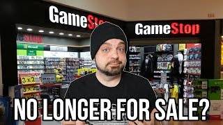 GameStop No Longer For Sale - Stocks PLUMMET!  | RGT 85