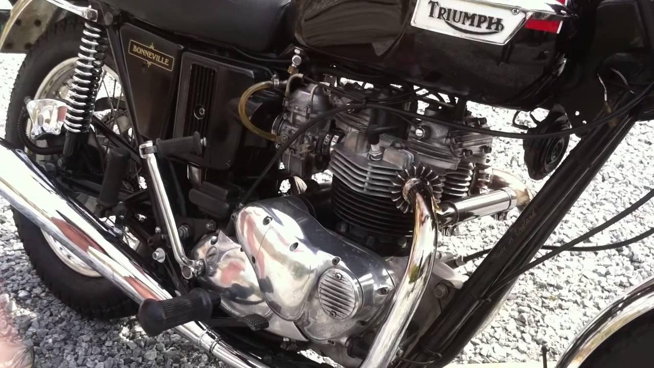 Craigslist Greenville Upstate >> 1982 Triumph Bonneville (For Sale) - YouTube