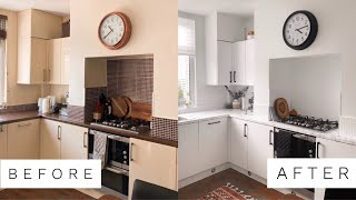 KITCHEN RENOVATION ON A BUDGET?! I FINALLY DID IT! | Fashion Influx