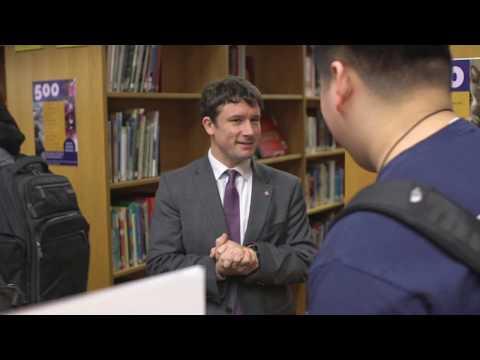 Meet the Principal of Lake Braddock Secondary School