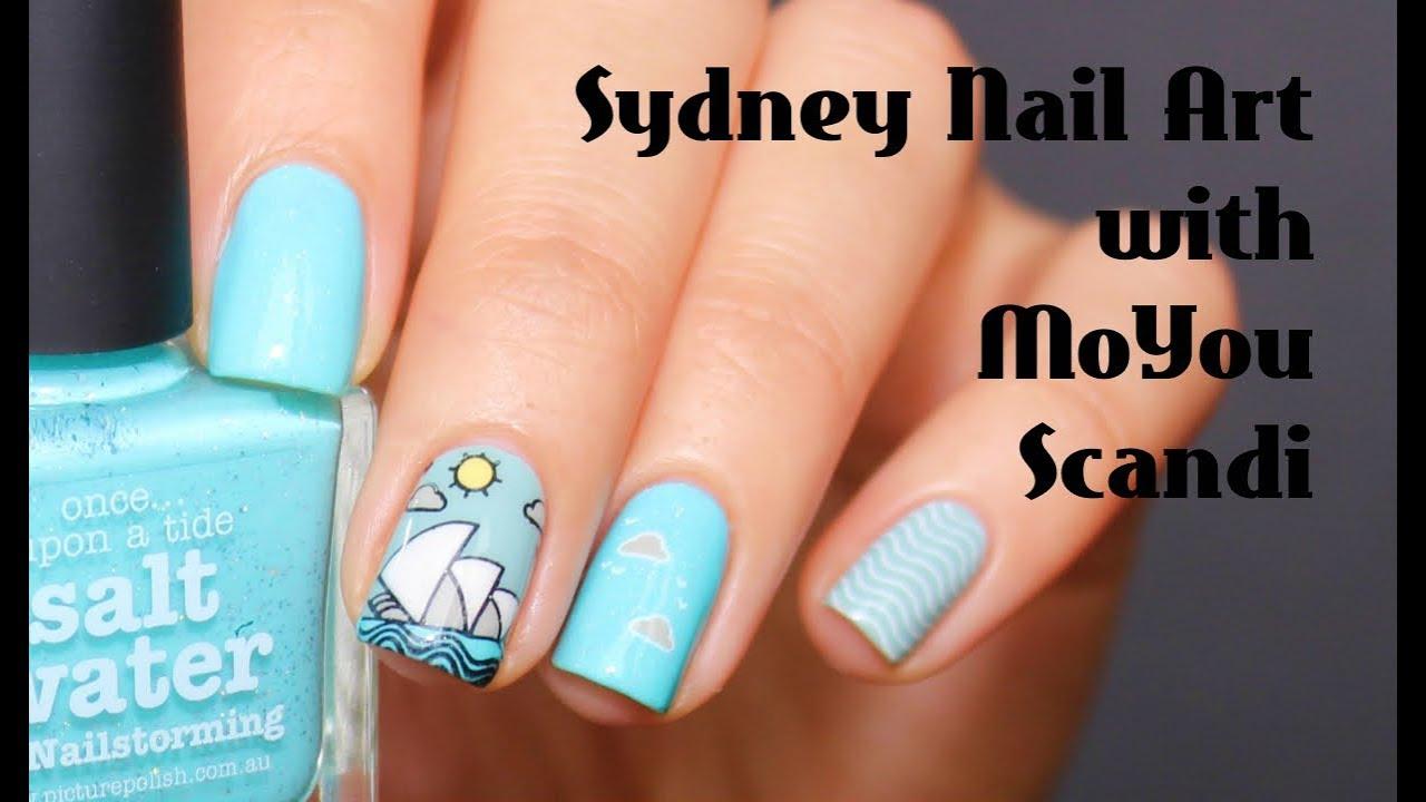 Sydney Nail Art With Moyou London