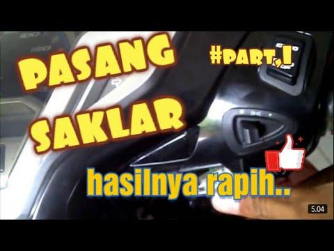 Tips Pasang Saklar Lampu Honda Vario 125 Youtube
