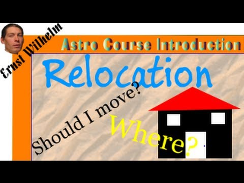 Relocation & Vedic Astrology (Astrology and Where you Live)