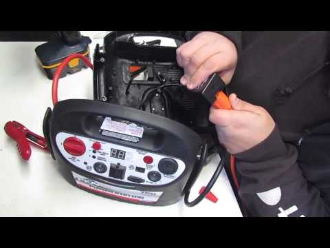 Peak 750 amp jump start pack won't charge