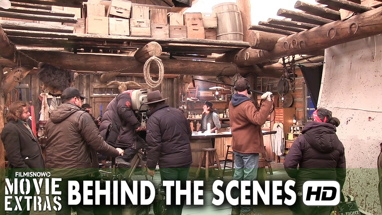 the hateful eight 2015 behind the scenes part 2 2 youtube