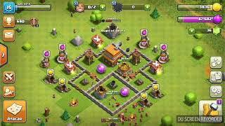 ¡¡MI PRIMER VIDEO DE CLASH OF CLANS!! ~ Mostrando mi aldea
