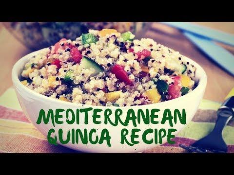 Mediterranean Quinoa Recipe