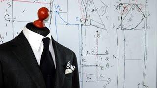 Техника кроя мужского пиджака. Первый, вводный урок.