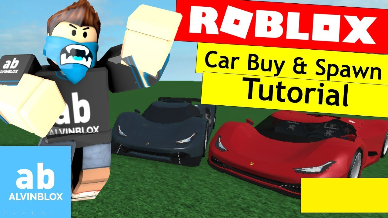 Roblox How To Make A Car Spawner Gui Youtube