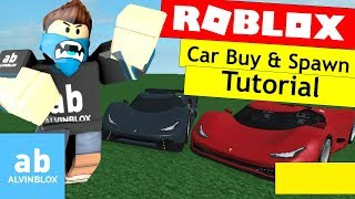 Roblox How To Make A Car Spawner Gui