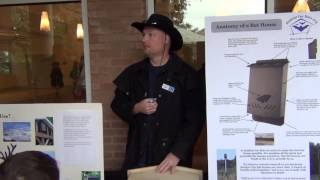 Bat House Talk At The Atlanta Botanical Gardens 2012