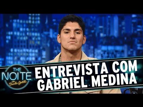 The Noite (22/02/16) - Entrevista Com Gabriel Medina