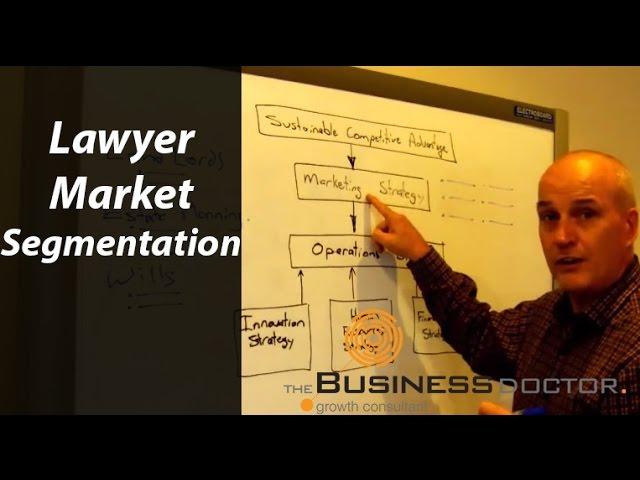The Business Doctor - Lawyer Market Segmentation