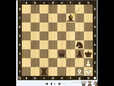 Уроки шахмат - Правила шахмат Шах, мат, пат