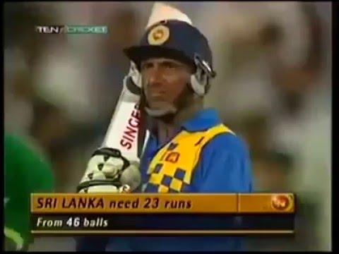 Srilanka vs Pakistan 1993 Sharja Trophy - Unbelievable Match