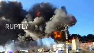 Spain  Huge explosion rocks chemical plant in Valencia