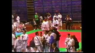 3rd gtf world taekwon do championships rimini 2000