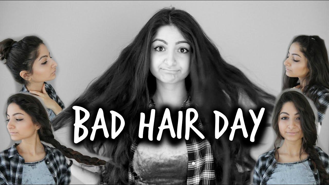 BAD HAIR DAY - einfache & schnelle Frisuren