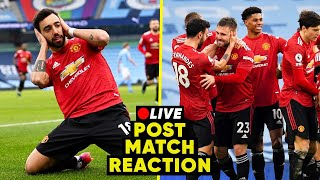 MANCHESTER CITY 0-2 MANCHESTER UNITED | Post Match Reaction & Highlights