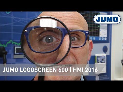JUMO LOGOSCREEN 600 | HMI 2016