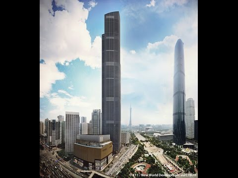 Building Containing the World's Fastest Elevator Now Complete